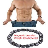Magnetic Therapy Armband Perlen Hämatit Stein Gesundheitswesen Gewichtsverlus