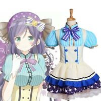 Women Nozomi Tojo Star Tutu Dress Kawaii Anime Love Live Girl's Cosplay Costume