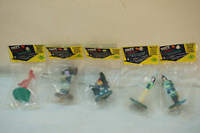 DISNEY CHARACTER FIGURES MULAN LOT 5 TOY AQUAFRESH ADVERTISING GIVEAWAY MIP