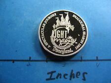 Disney Land Main Street Electrical Parade 1996 Farewell 999 Silver Coin Rare