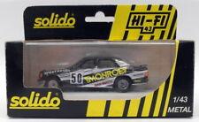 Solido Models 1/43 Scale Diecast 01500 - Mercedes  Benz 190-1506 - Blue No.50
