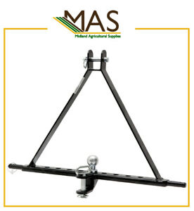 3 Point Linkage Tow Hitch - Suitable for Tractors up to 45hp