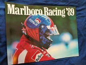 1989 Emerson Fittipaldi Marlboro Racing Indy 500 Indianapolis Poster