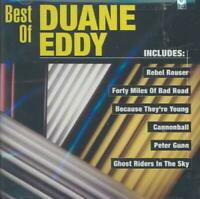 DUANE EDDY - THE BEST OF DUANE EDDY [CURB] NEW CD