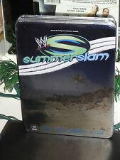 WWE Summerslam 2007 Exclusive Collector's Tin (DVD) John Cena Vs Randy Orton NEW