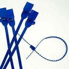(5)Blue 320mm Plastic Lead Ribbon/Seal Used for Tanker Semi-Truck Trailer Doors