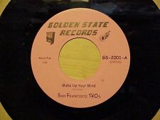 "RARE NORTHERN / SWEET SOUL 45 BY "" SAN FRANCISCO TKO'S"" L@@K LISTEN"