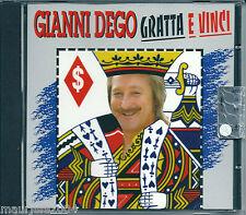 Gianni Dego. Gratta e Vinci (1996) CD NUOVO Madonnina di Sarajevo. Grande Mondo