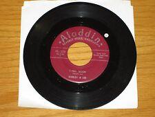 "R&B / ROCK & ROLL 45 RPM - SHIRLEY & LEE - ALADDIN 3338 - ""I FEEL GOOD"""