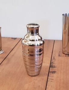 12 oz. Convex STAINLESS STEEL Martini Boston SHAKER 3-Piece Cocktail Mixer Tin