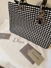 Genuine Christian Dior Handbag, with authenticity cert and dust bag.
