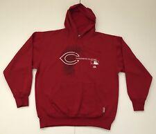 Cincinnati Reds MLB Baseball Team Therma Base Hoodie Sweatshirt, Majestic, XL
