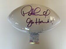 Pete Carroll Seattle Seahawks Signed AUTOGRAPH NFL Replica Football PSA DNA