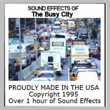 Sounds Of A Busy City Of Cd For Ho Scale Model Railroads And More