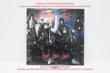 Girls Girls Girls - Motley Crue Vinyl SUPER RARE UNPLAYED Elektra 1987