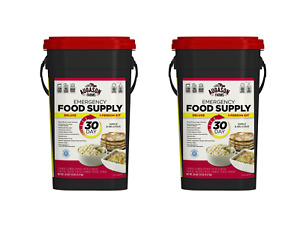 Augason Farms Deluxe 30-Day Emergency Food Supply- 2 Cans X 20 lb 7.5oz