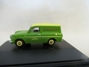 OXFORD RAILWAY SCALE FORD ANGLIA VAN - SOUTHDOWN SCALE 1:76 76ANG032