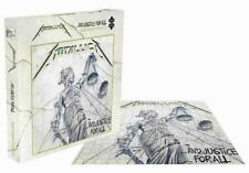 Metallica Jigsaw Puzzle and Justice for All Album Cover Official 500 Piece