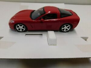 2007 CORVETTE COUPE PROMO MODEL  RED 1.24 NEW