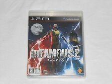 NEW Infamous 2 Playstation 3 JAPANESE VERSION Sealed PS3 Japan Import Game JP J