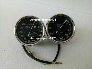 Smiths Tachometer 8000 rpm M12x1 thread 2:1 ratio Clockwise+ 120 mph speedometer