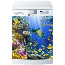 Magnet lave vaisselle Fonds marins 60x60cm réf 630 630