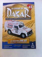 FASCICULE RALLYE PARIS DAKAR N°12 MERCEDES 280 GE ICKX RALLY WRC
