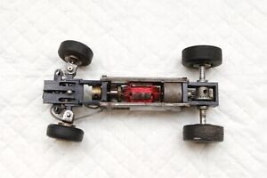 MRRC Ballrace motor 5 pole Ackerman steering chassis vintage 60's bevel gears