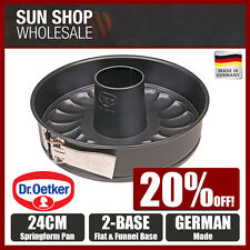 Made in Germany! Dr.Oetker Tradition 2 Bases Springform Pan 24cm! RRP $40.00!