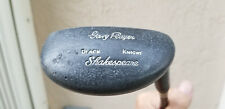 Shakespeare Gary Player Black Knight Mallet Putter Black  Fiberglass Shaft 35""