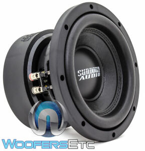 "SUNDOWN AUDIO E-8 V.6 D4 8"" SUB 300W RMS DUAL 4-OHM SUBWOOFER BASS SPEAKER NEW"