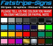 FORD FIESTA MK6 ST STRIPE KIT STRIPES CAR VINYL GRAPHICS DECALS ZETEC 1.2 2.0 SI