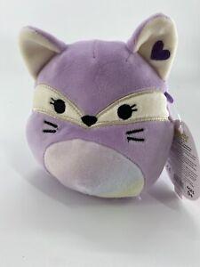 "Squishmallow Valentine 2020 Fifi The Fox 5"" Target Exclusive NWT Rare cute plush"