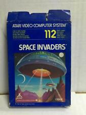 Cartridge SPACE INVADERS Game for ATARI Video Computer System MIB, 1980