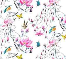 DESIGNERS GUILD FABRIC MADAM BUTTERFLY PEONY 1.3m
