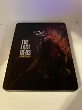 The Last of Us Remastered Steelbook Case PS4 (NO GAME)