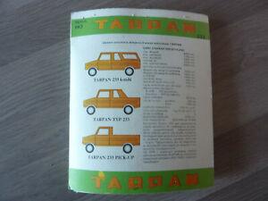 Made in Poland 1/87 plastic kit of TARPAN 233 Kombi, pickup & double cab pickup