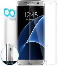 New Samsung Galaxy S7 Edge Screen Protector, Maxboost [Liquid Skin] Kit