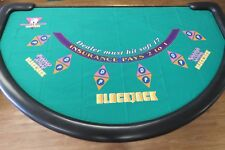 Genuine Winners Option Blackjack Layout 'RARE GAME""