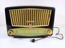 Vintage RADIO TSF PHILIPS BF 341A Bakélite  1954 en Etat de Fonctionnement