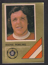 FKS - Soccer Stars 78/79 Golden Collection - # 8 Richie Powling - Arsenal