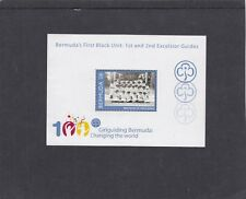 Bermuda 2010 Girlguiding Girl Guides Centenary MS unmounted mint