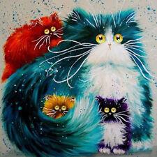 Full Drill 5D Diamond Painting Cat Art Handicraft Embroidery Cross Stitch Kit