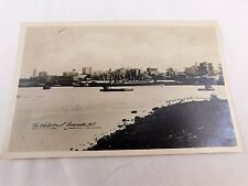 C.1910-20 RPPC The Waterfront Downtown View, Vancouver, BC, Canada Postcard P29