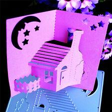 Quiet Night Cutting Dies Stencil Scrapbook Album Paper Card Embossing Craft