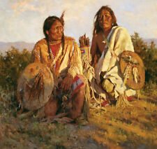 Howard Terpning MEDICINE SHIELDS OF BLACKFOOT giclee canvs ARTIST PROOF AP#11/25
