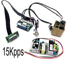 15kpps High Speed Galvo Scanner For Laser Show Lightingrgb Laser System Scann