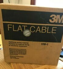 3M FLAT CABLE VW-1 3365/37 100FT / OPEN BOX