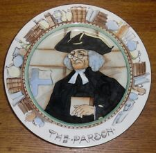 "Royal Doulton Professionals Plate - The Parson - 10 1/2"" - Crazing"