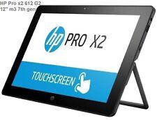 """HP Pro x2 612 G2 12"""" m3 7th gen RAM 8GB SSD 128GB tablet 2511"""